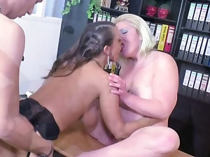 Real Casting for German Couple with Feminine Porn Agent