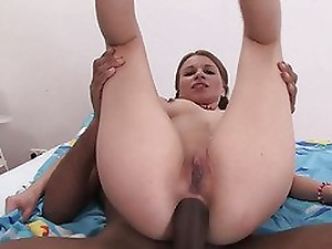 Pigtail girl in Hot Interracial Anal Chapter