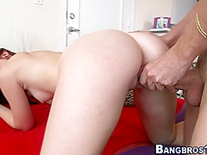 Redheaded amateur pounded