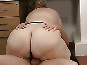 BBW Granny Fucks Her Depending