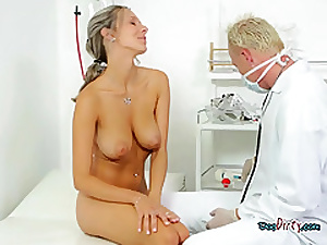 Busty Chick Sucks Her Well Hung Gynecologist