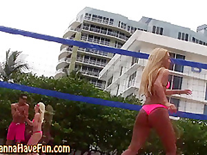 Real bikini teens flash