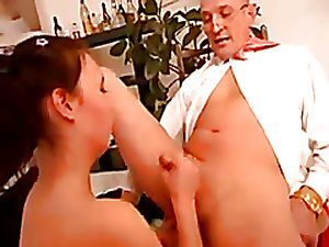 Young german slut screwed by older man