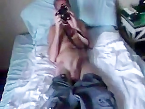 Hot British student gets a huge facial - amazing video!