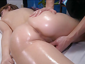 Oily together with delightful massage