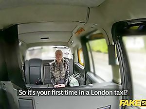 British hottie gets fucked hardcore dominant a taxi cab
