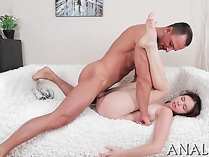 Hot spoil gets a lusty electrocution be worthwhile for the brush yummy anal narrows