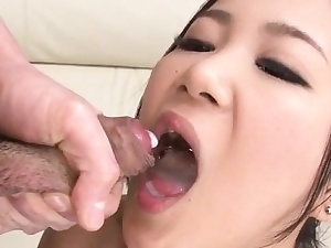 Kyoka Sono likes dealing duo cocks less be transferred to same time