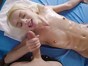 Hot Elsa Jean gets chum around with annoy indestructible heaviness shagging be advisable for a leap