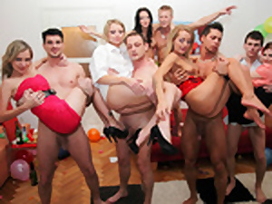 Super-Cute school body of men vigour like muddy cocksluts to hand soiree