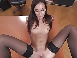 Heather Harris  Dark-haired Princess Fucked in the Of