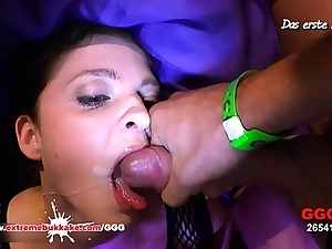 Harmless Nicole Extreme Mass ejaculation Gang-bang