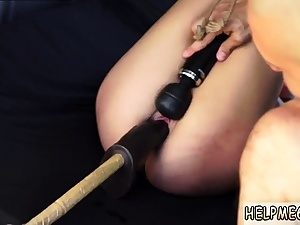 Xxx double penetration restrain bondage and extraordinary blond gangbang very first