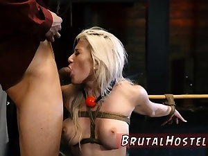 Extreme man meat jerking machine Big-breasted platinum-blonde