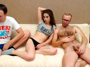 Threesome With My 2 Brothers - Observe Part2 on CUMCAM,COM