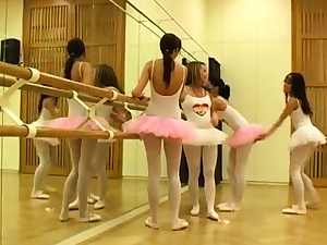 Brunette twins 3some xxx Warm ballet gal fuck-a-thon