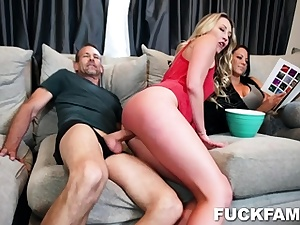 Adira Allure In Daughter Semen Send Off