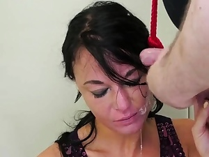 Gloryhole restrain bondage hard-core Talent Ho