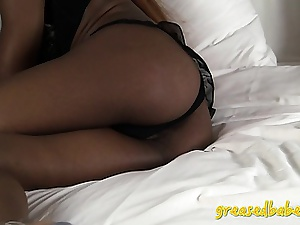 Horny Ebony Amateur Inanna Star Shows off Her Sexy Pitch-black Ass
