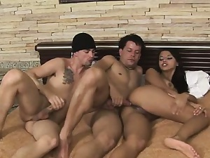 Relax with great bi scene