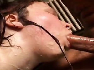 Hot daughter hard gangbang